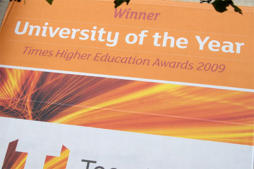 Teesside University of the Year 2009