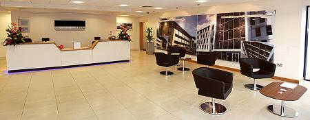 Liverpool Business Centre Reception